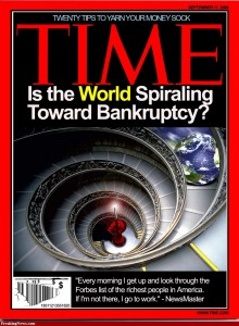 World Bankruptcy Time magazine
