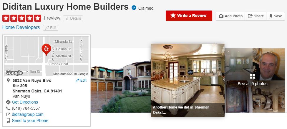Diditan custom luxury home builders