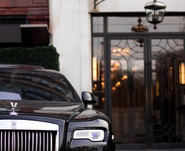 Rolls Royce in Calabasas