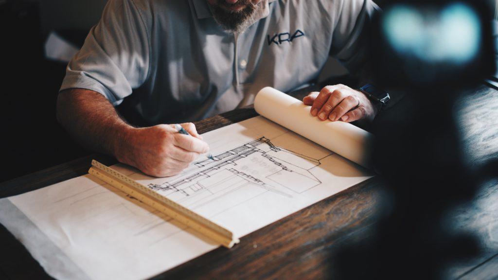 Planning an interior design