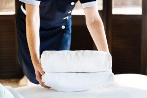 laundry towels housekeeping