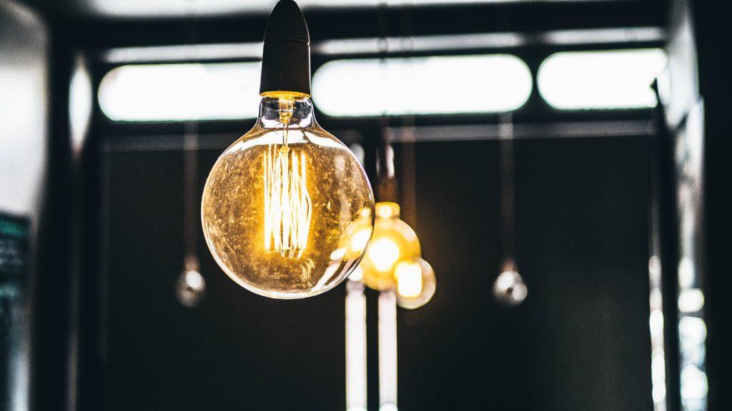 electricity light bulb