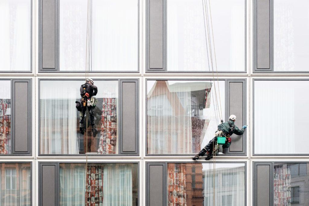 window cleaning housekeeping