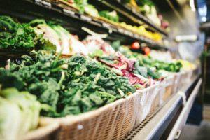 fresh grocery vegetables