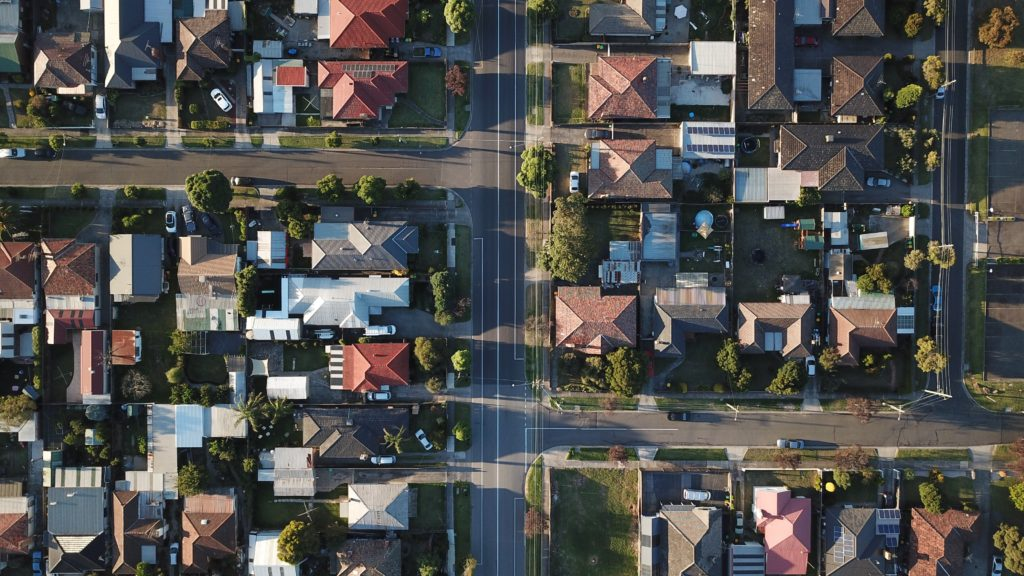 residential housing streets