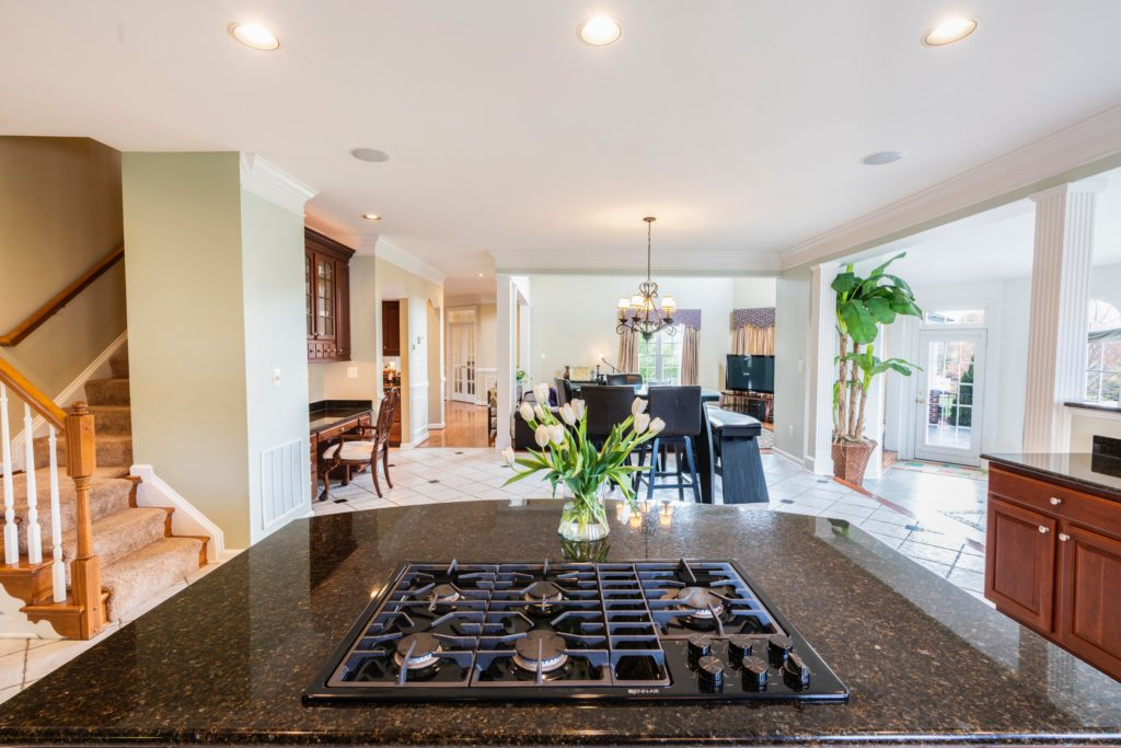 indoor household kitchen