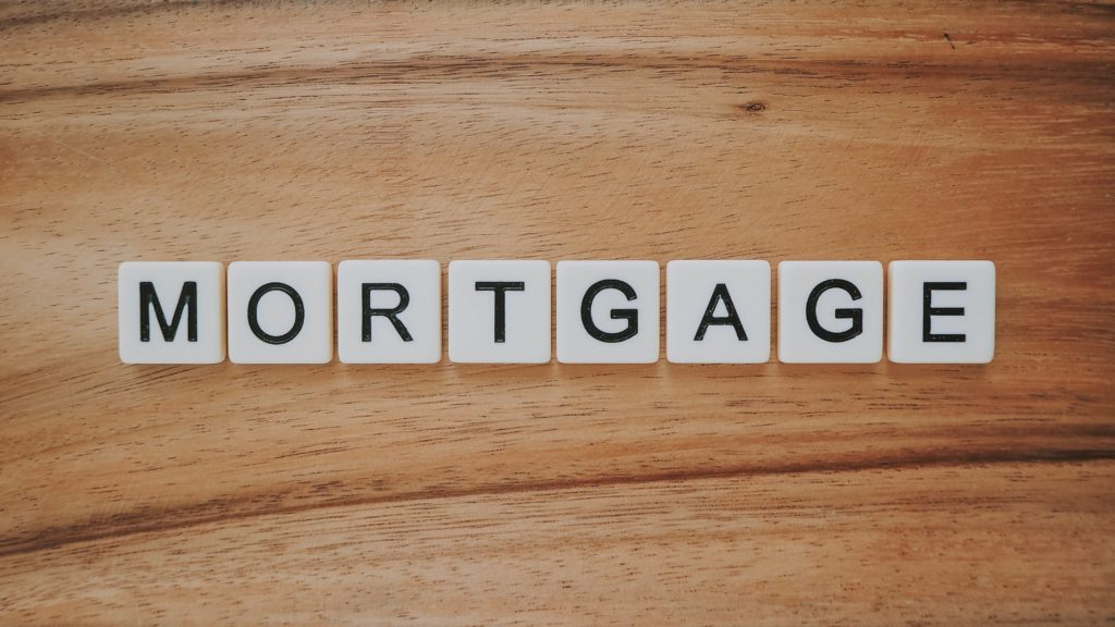 letters that spell out mortgage