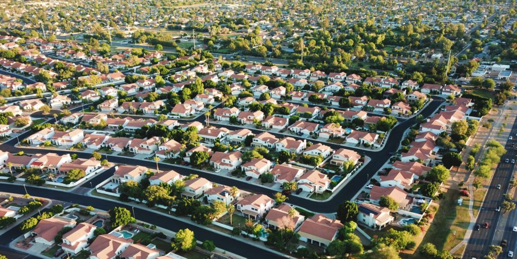 residential homes neighborhood