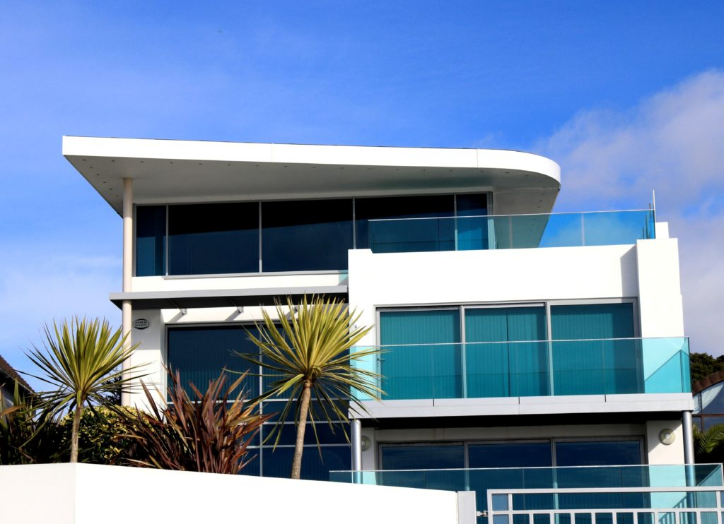 modern luxury vacation home