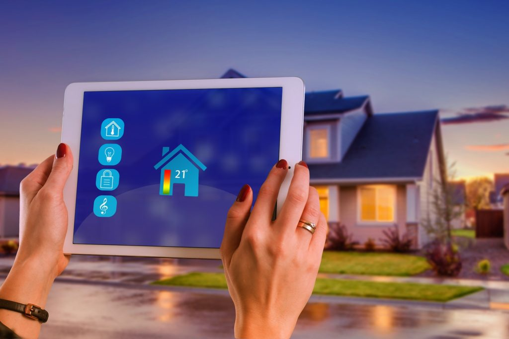 smart home tablet control