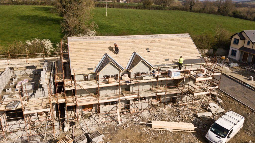 construction on custom home