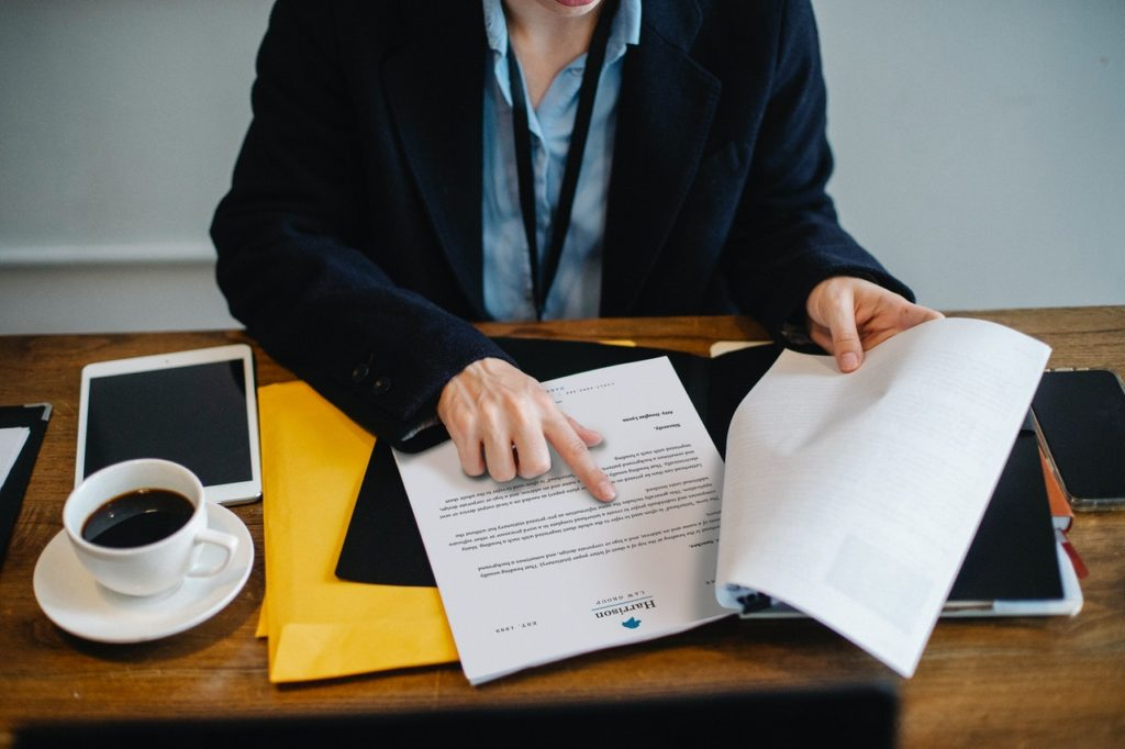 financial agreement due diligence